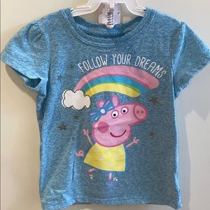 Firm price Peppa pig T-shirt